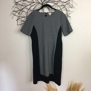 J CREW WORK DRESS. Classic. Size 10z black grey